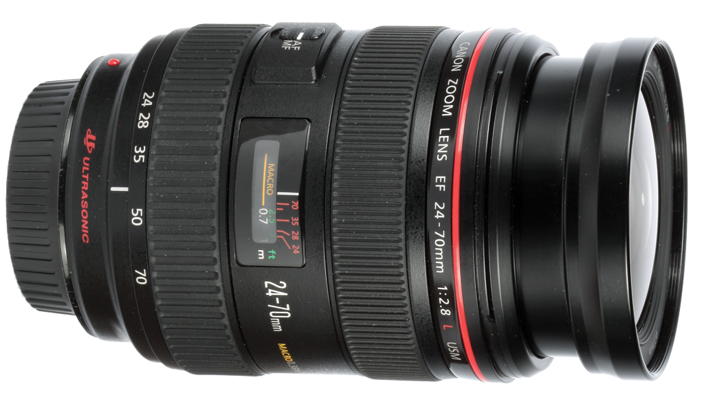 Canon EF 24-70mm f 2.8 L lens
