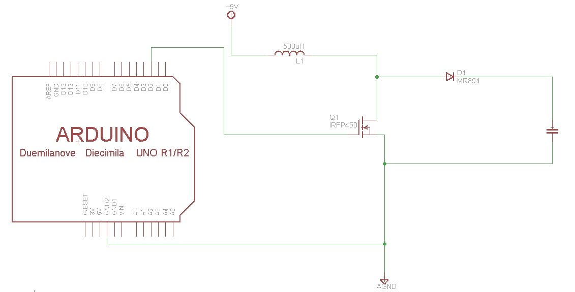 need help for programming the boost converter - Arduino