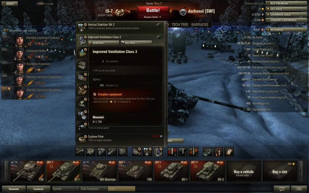 World of Tanks battle