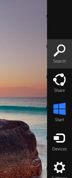 windows 8 sidebar