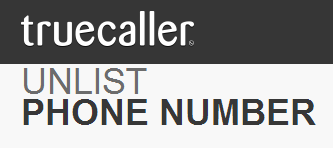 Remove phone number from truecaller database