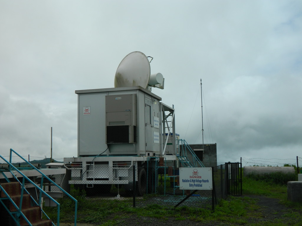 X-band cloud radar