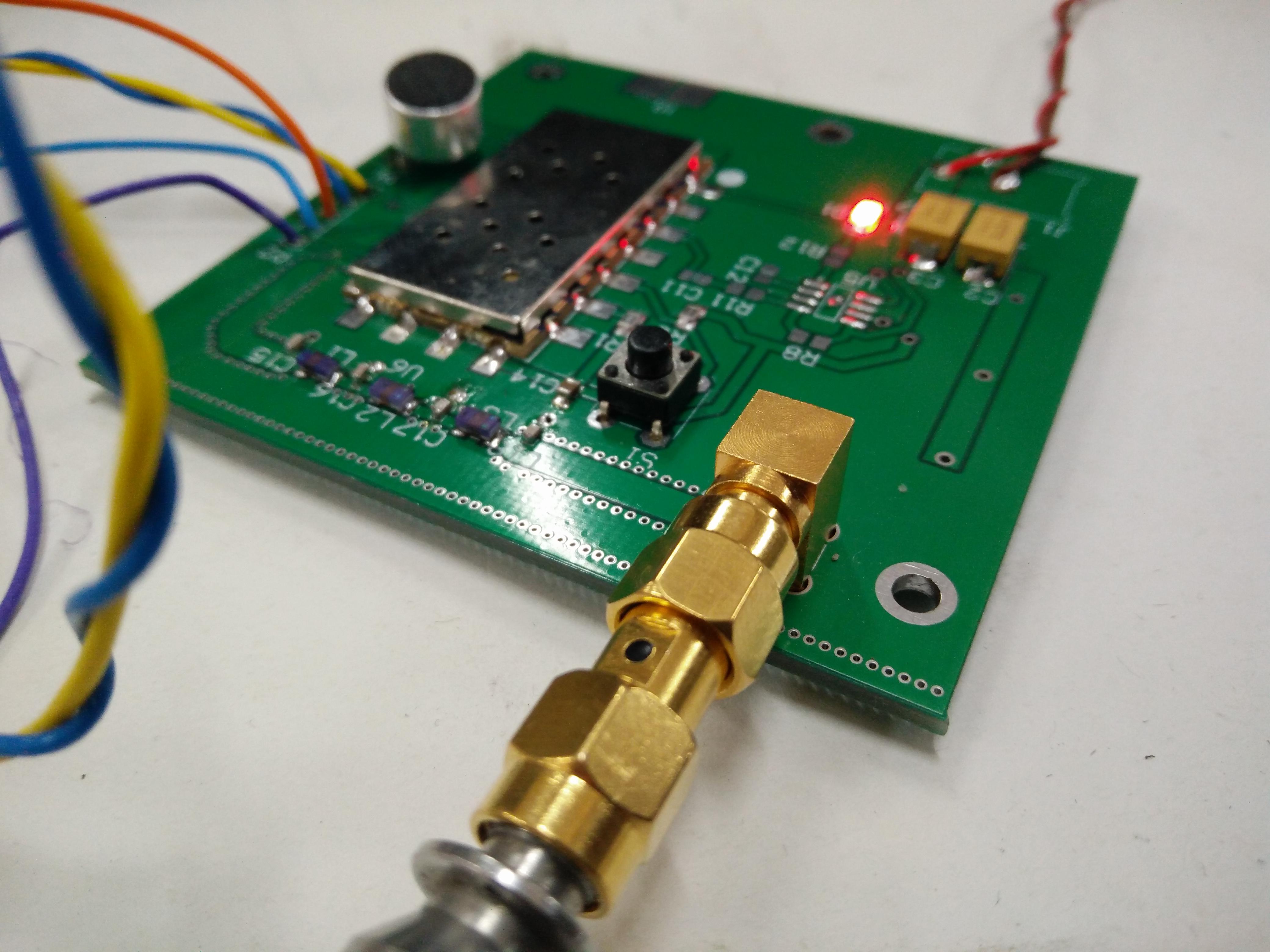 Dra818v Vhf Band Transceiver Part 1 How To Build Opamp Fm Transmitter