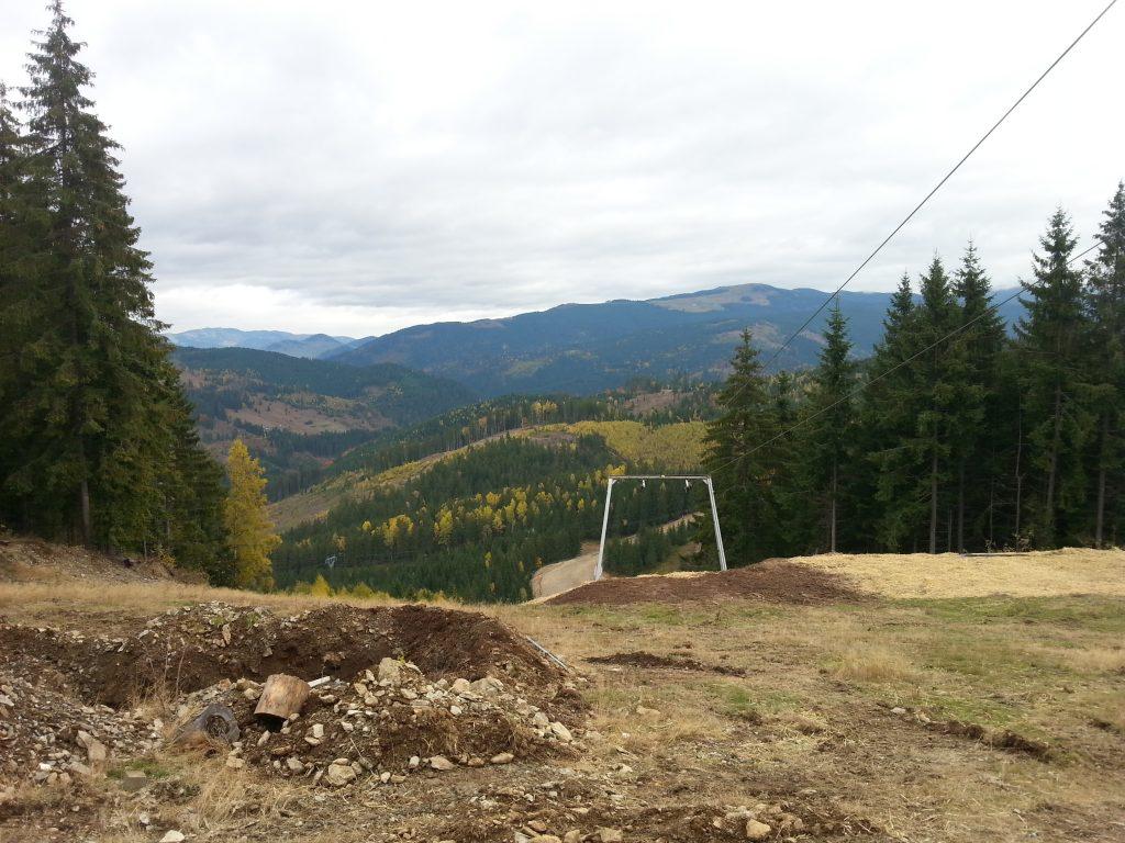 Memory photos of ski slide
