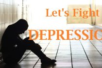 Let's fight depression together