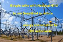 Google National Grid reduce energy consumption