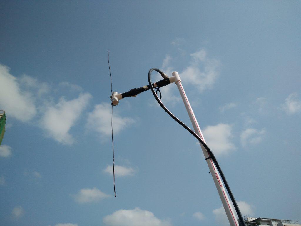 PVC dipole antenna