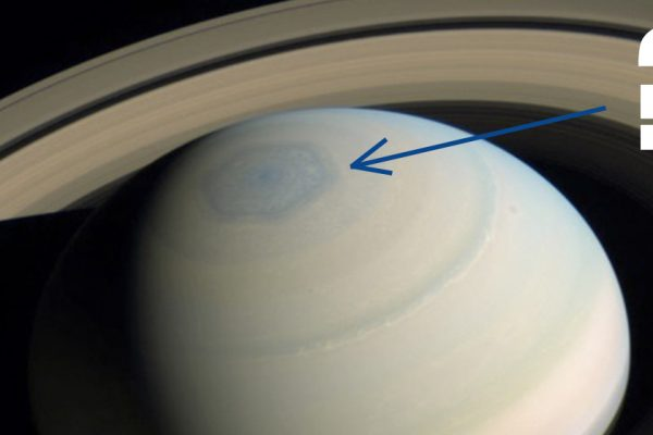 Saturn North Pole Hexagon