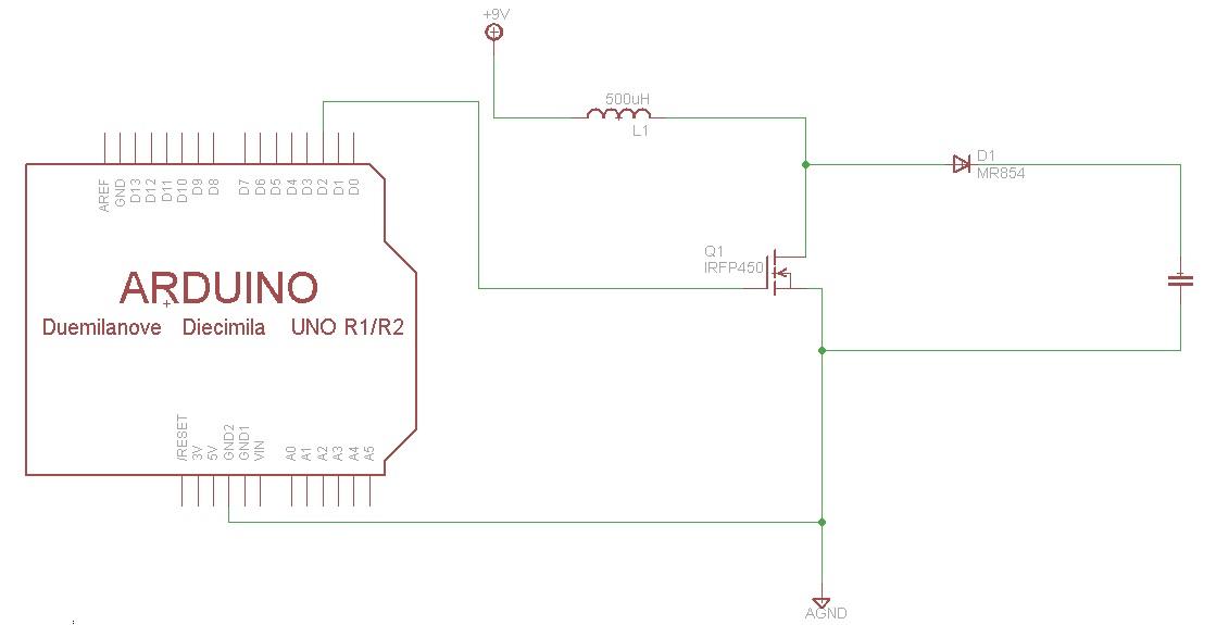 Very simple High voltage converter - Boost converter