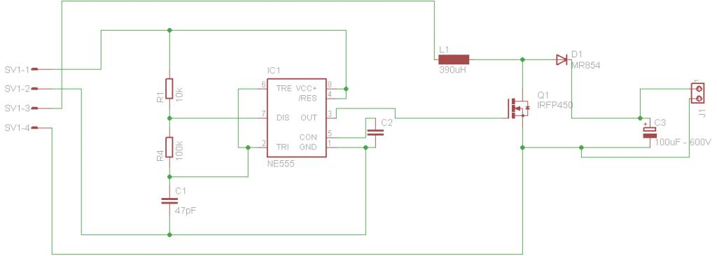 Boost converter circuit