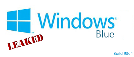 Windows blue leaked logo