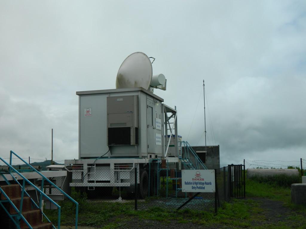 X-band cloud radar
