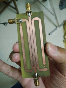 Fabricated dual directional coupler.