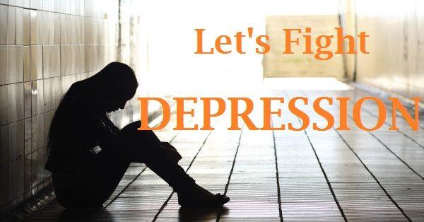 Let's fight depression together
