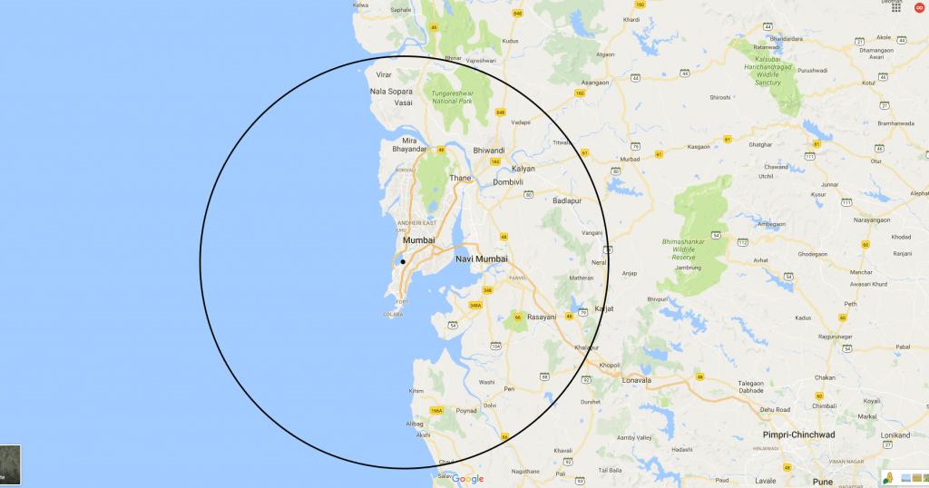 ham radio approximate reach