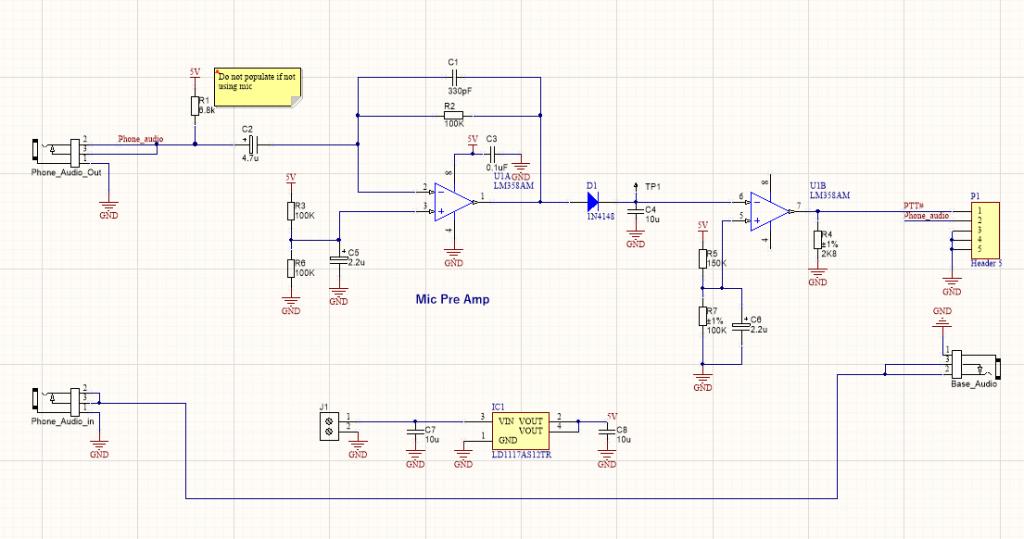 voice detector circuit