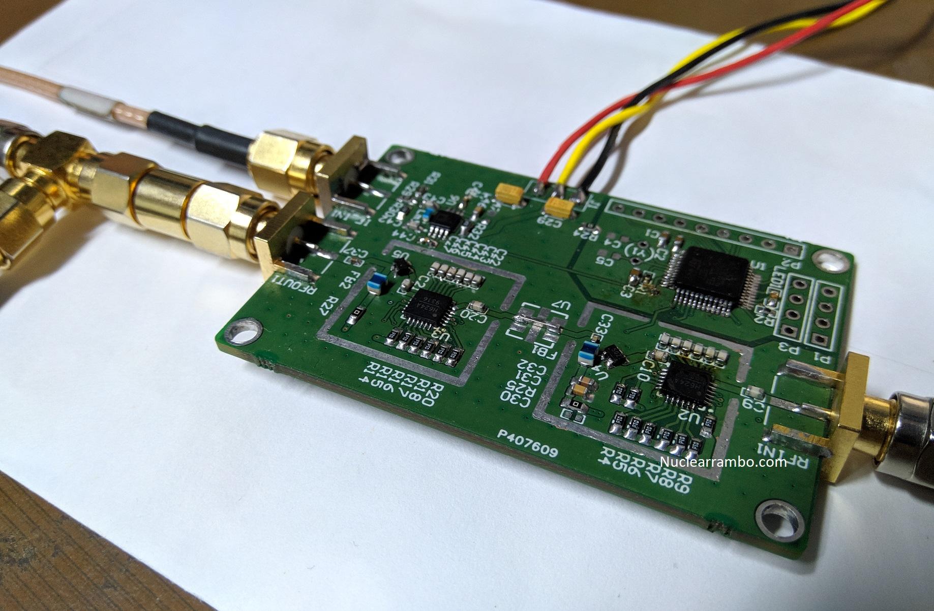 hmc624 agc circuit