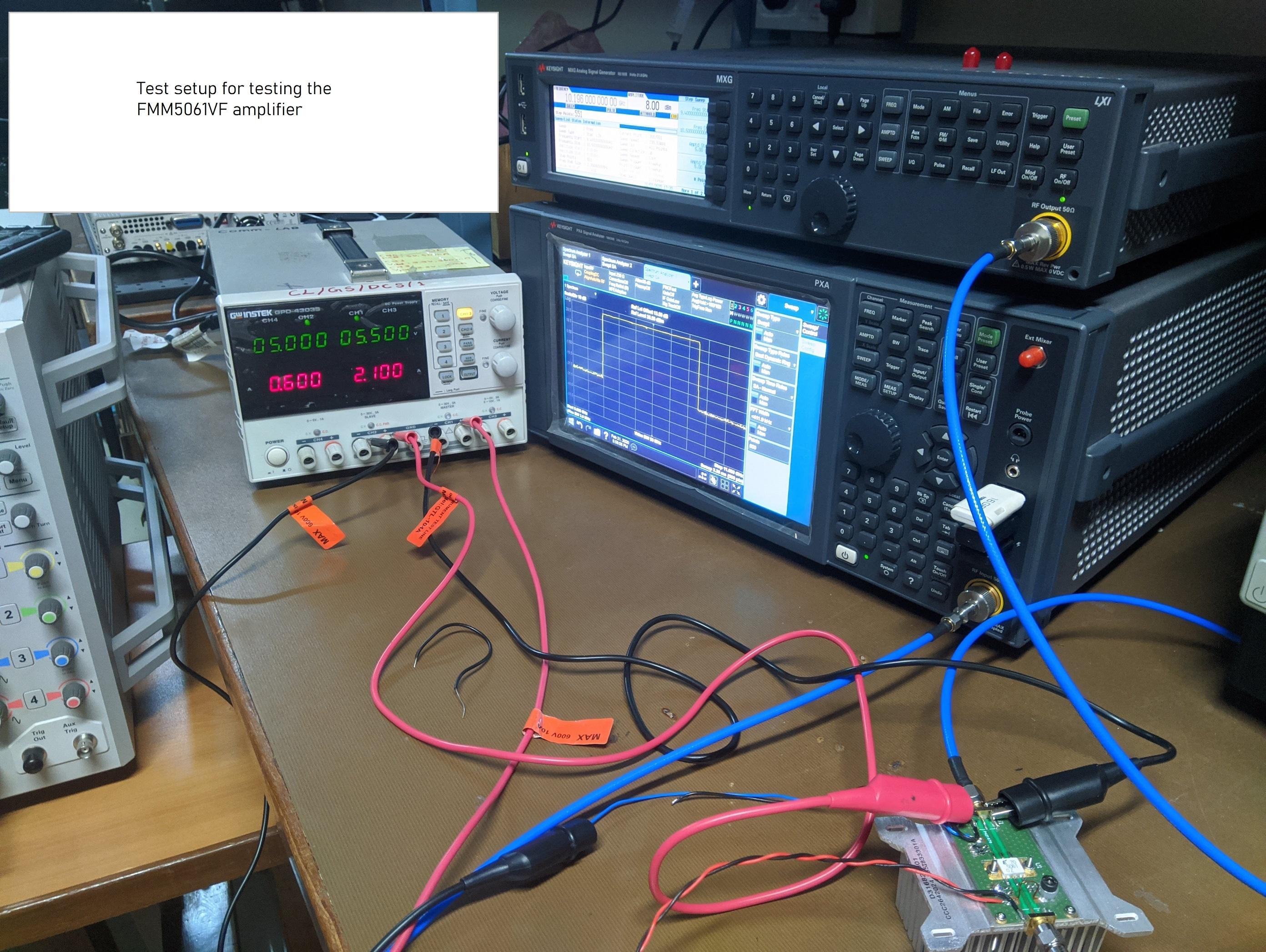 Testing the FMM5061VF